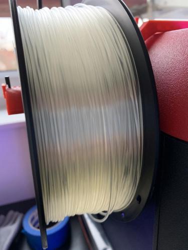 Geeetech Filament Transparent auf dem Finder Part2
