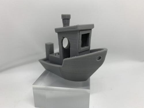 Geeetech Filament Gray Testschiff 3