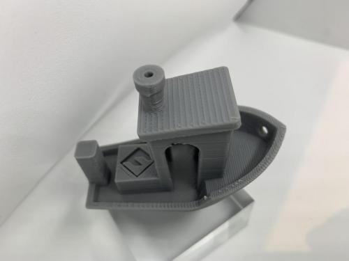 Geeetech Filament Gray Testschiff 2