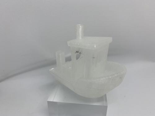 Geeetech Filament Transparent Testschiff 2