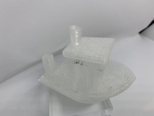 Geeetech Filament Transparent Testschiff 1